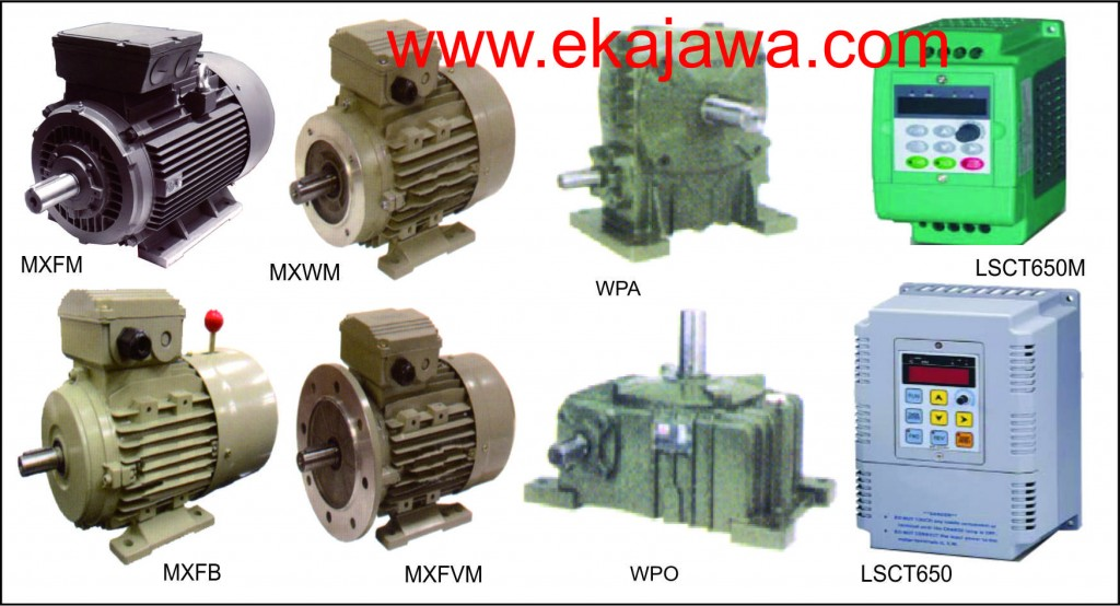 Electromotor, Gear Box, Gear Motor, Vector Inverter, Soft Starter